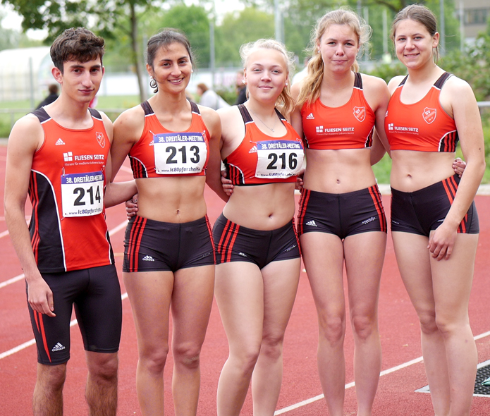 Mannheim Leichtathletik Pforzheim Meeting Track and Field