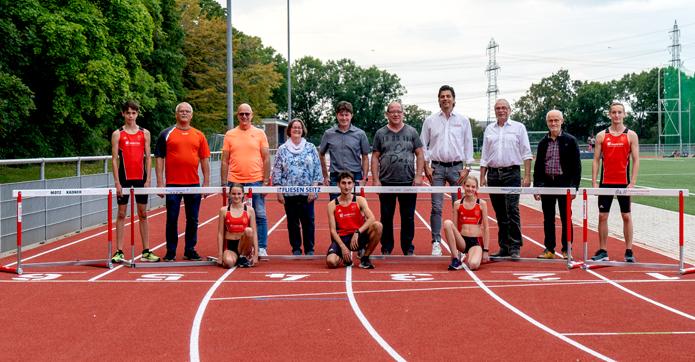 Hürden Sponsoring Sponsor Mannheim Leichtathletik Track and Field