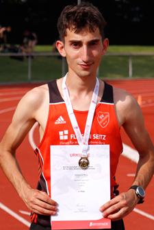Stefano Badischer Meister Goldmedal