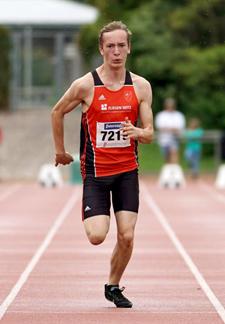 Florian Mannheim Leichtathletik Sprint Hürden Badische Meisterschaften