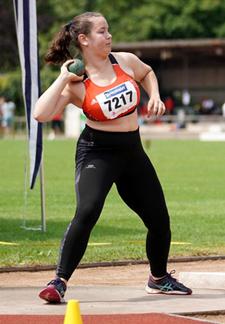 Kim Badische Kugel Mannheim Leichtathletik
