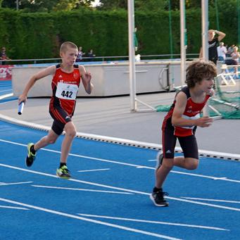 Mannheim Leichtathletik Staffel