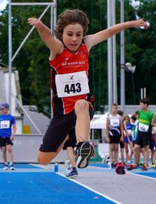 Mannheim Leichtathletik Weitsprung