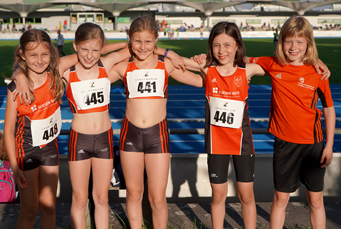 Mannheim Leichtathletik Kindertraining Jugendtraining Team