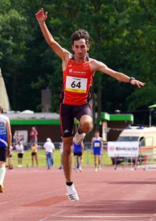 Stefano Leichtathletik Dreisprung Mannheim