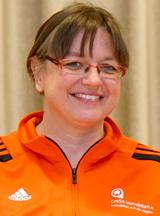 Trainer Christiane Feid