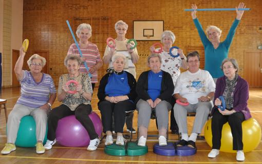 Seniorinnen Gymnastik SV 98/07 Seckenheim